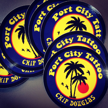 port city stickers