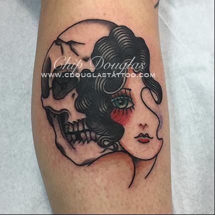 girlhead_skull_chip_douglas_port_city_tattoo